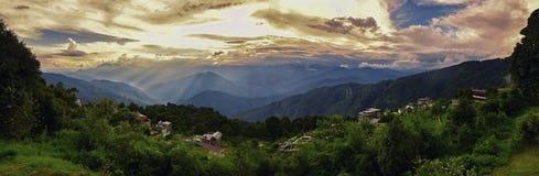 Пик Shillong Стоковые Изображения RF