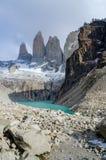 Пик Torres del Paine Стоковая Фотография RF