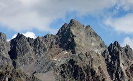 Пик Wildgrat (2.971 m выше уровень моря) Стоковые Изображения