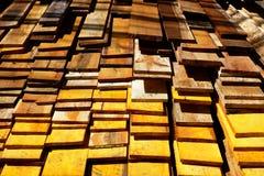 Пиломатериал в складе стоковые изображения rf
