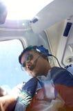 Пилотный автопортрет Стоковое Изображение RF