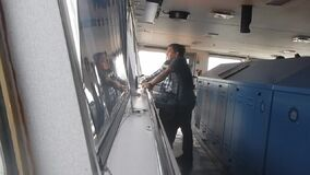 Пилотный дающ ` двигателя стопа ` заказа сток-видео