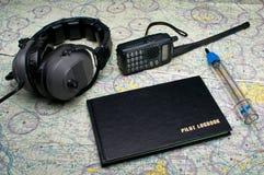 пилоты полета оборудования Стоковая Фотография