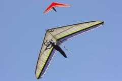 пилот гор hang планера итальянский Стоковые Фотографии RF