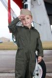 пилот мальчика Стоковые Изображения RF