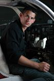 пилот Стоковое фото RF