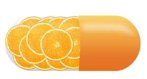Пилюлька витамина стоковая фотография rf