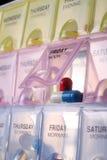 пилюлька коробки Стоковые Фотографии RF