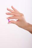 пилюлька руки Стоковое Изображение