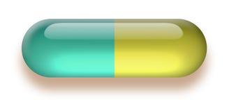 пилюлька иллюстрация вектора