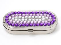пилюлька jeweled коробкой Стоковые Фотографии RF