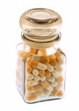 пилюльки бутылки медицинские Стоковые Фото