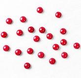 пилюльки красные Стоковое Изображение