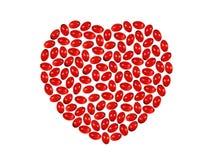 пилюльки сердца Стоковые Фотографии RF