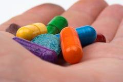 пилюльки цвета Стоковое Изображение