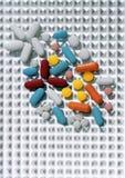 пилюльки цвета multi Стоковое фото RF