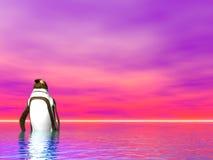 пингвины иллюстрация вектора