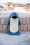 Пингвин мусорного бака Стоковое Фото