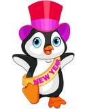 Пингвин младенца Нового Года бесплатная иллюстрация