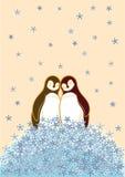 пингвин пар Стоковая Фотография