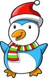пингвин праздника рождества иллюстрация вектора