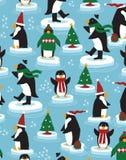 пингвин рождества Стоковые Фотографии RF