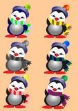 Пингвин рождества Стоковая Фотография RF