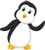 пингвин шаржа милый Стоковые Фото