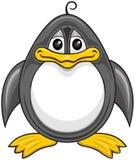 Пингвин 01 шаржа Стоковое Изображение RF