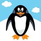 Пингвин шаржа Стоковое Изображение