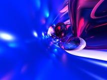 пинк абстрактной предпосылки голубой представляет Стоковые Фото