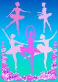 пинк балерины Стоковые Фото