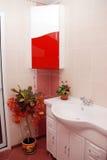 пинк ванной комнаты Стоковые Изображения
