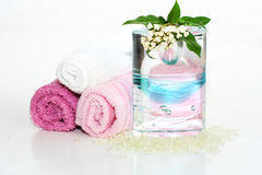 пинк ванны вспомогательного оборудования Стоковые Изображения