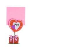 пинк влюбленности бумажный Стоковые Изображения