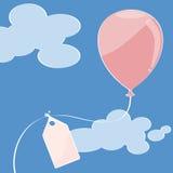 пинк воздушного шара Стоковое Изображение
