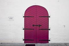 пинк двери Стоковая Фотография