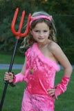 пинк девушки дьявола Стоковая Фотография RF