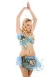 пинк девушки платья Стоковая Фотография