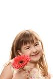 пинк девушки цветка Стоковое фото RF