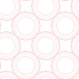 Пинк звенит абстрактная безшовная картина на белизне бесплатная иллюстрация