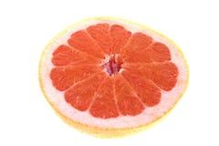 пинк изолированный грейпфрутом Стоковые Изображения RF