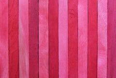 Пинк и красная деревянная предпосылка Стоковые Изображения RF