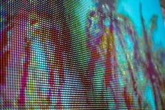 Пинк и покрашенный синью экран smd СИД Стоковое фото RF