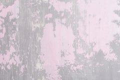 Пинк и поцарапанная серым цветом поверхность Стоковое Фото