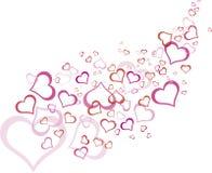 пинк картины плана сердца Стоковые Фотографии RF