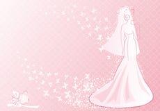 пинк невесты Стоковая Фотография RF
