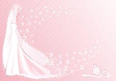пинк невесты Стоковое Изображение
