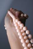 пинк ожерелья Стоковые Изображения RF