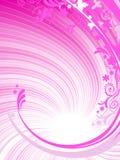 пинк предпосылки флористический Стоковое Изображение RF